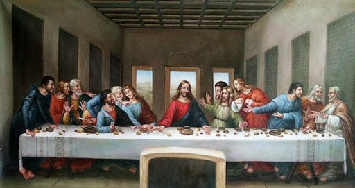 ¡Última Cena de Jesús en Familia!